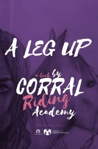 Book cover for A Leg Up by the Corral Riding Academy