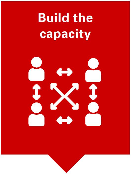 build the capacity