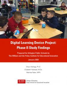 Arlington Public Schools Digital Learning Device Project: Phase II Study Findings