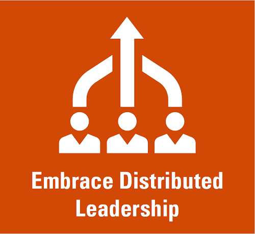 Embrace Distributed Leadership