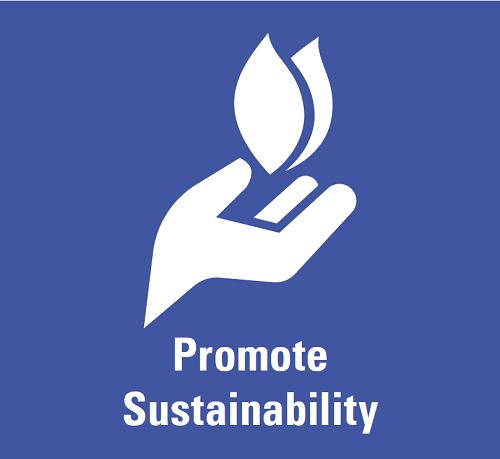 Promote Sustainability