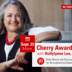 """Cherry Award Lecture with Hollylynne Lee, Ph.D. """"Data Moves and Discourse: Design Principles for Strengthening Statistics Education"""" Sept. 23. 3-4 p.m."""